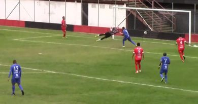 Gabriel marcou o gol da vitória do Guarulhos