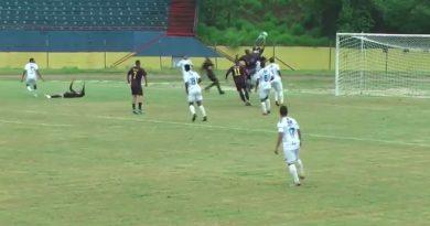 Goleiro do Mauaense soltou a bola em lance crucial da partida