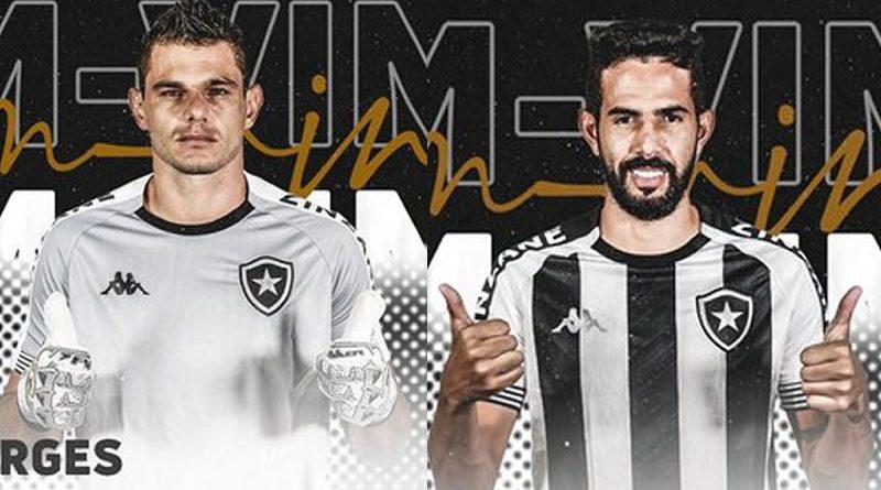 Botafogo anunciou dois novos jogadores