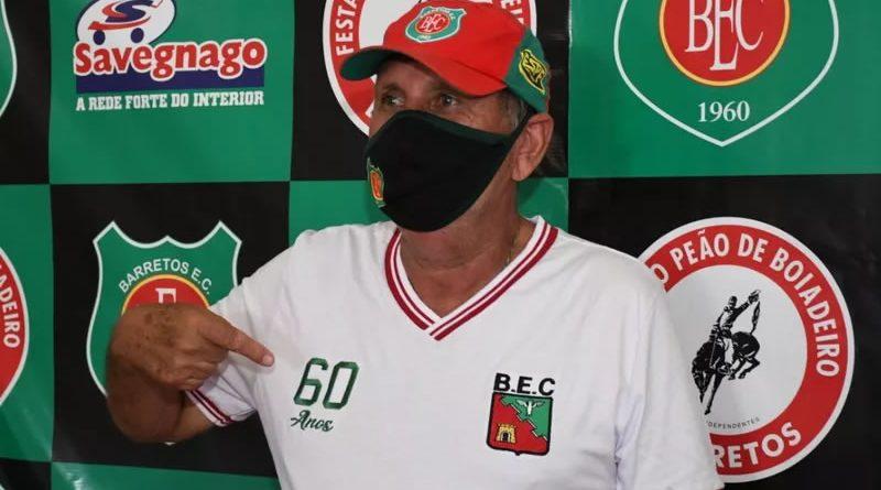 João Martins deixou o comando do Barretos