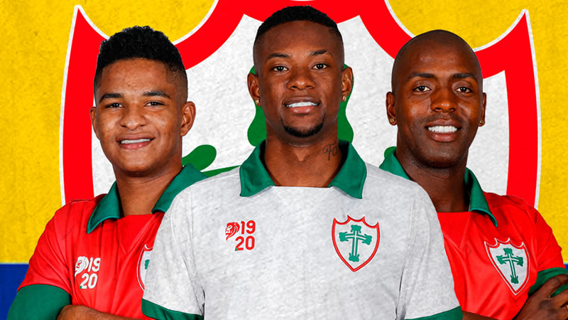 Portuguesa anunciou a chegada de três colombianos