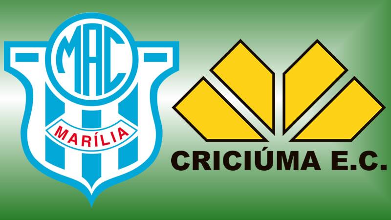 Marília x Criciúma