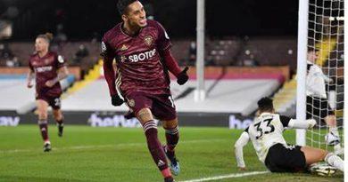 Rafinha marcou o gol da vitória do Leeds