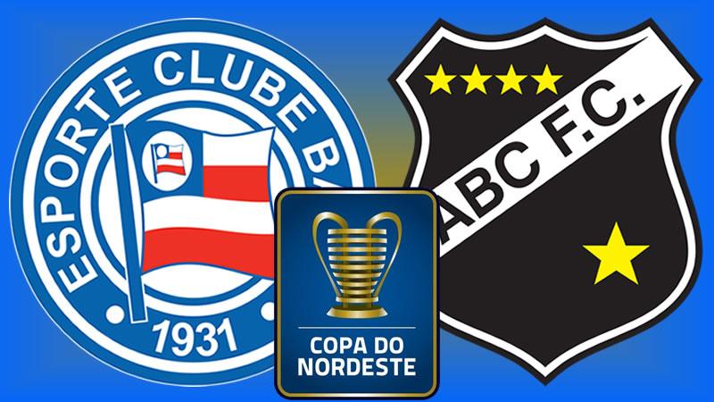 Bahia x ABC vale vaga na segunda fase da Copa do Nordeste