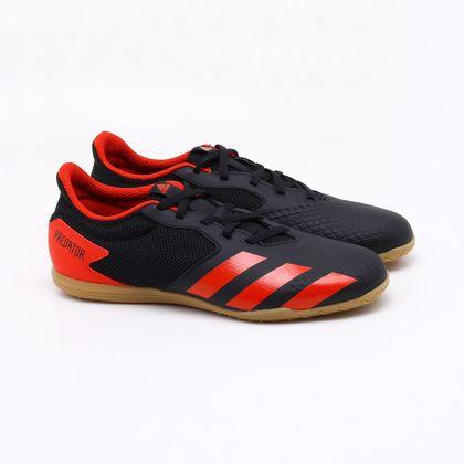 Chuteira Futsal Adidas Predator 20.4 IN Preta