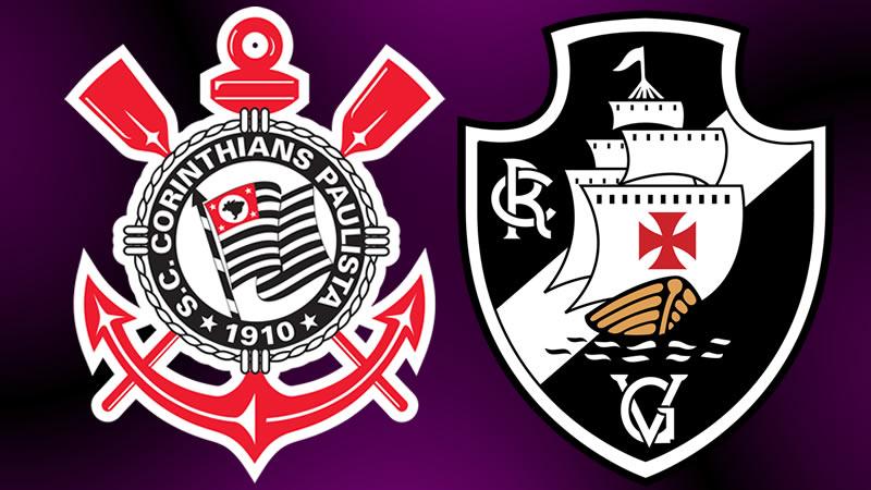 Saiba onde assistir Corinthians x Vasco ao vivo