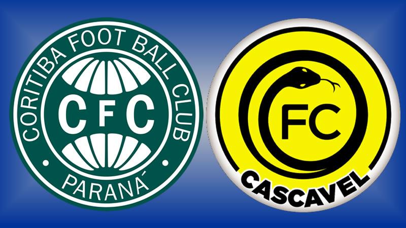Onde assistir Coritiba x FC Cascavel ao vivo