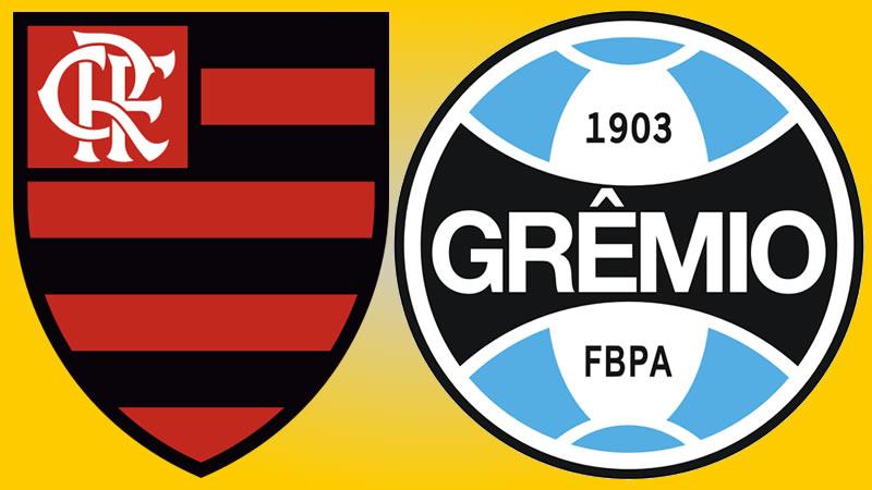 Saiba onde assistir Flamengo x Grêmio ao vivo