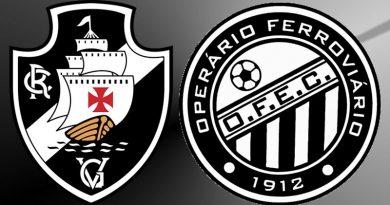 Vasco x Operário será o jogo que abrirá a rodada deste sábado, no Campeonato Brasileiro da Série B. A partida acontece às 11 horas