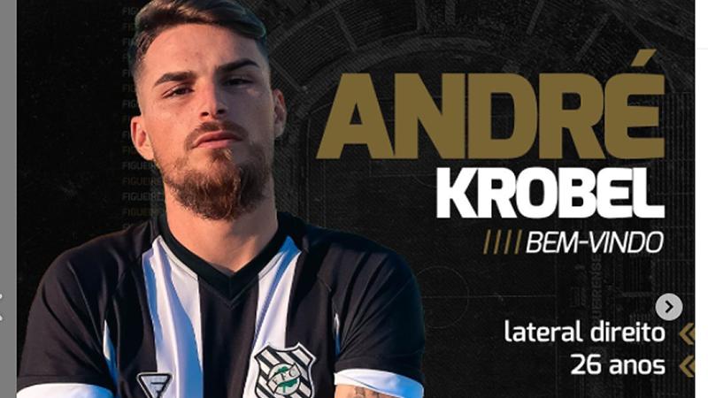 André é um dos reforços do Figueirense para a Série C