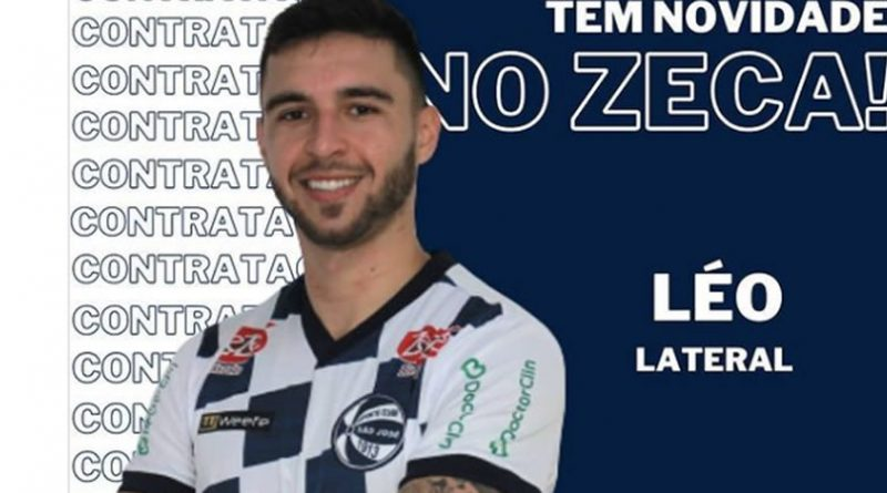 Léo é o novo contratado do São José
