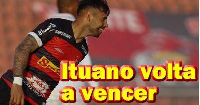 Ituano fez 3 a 0 em cima do Criciúma