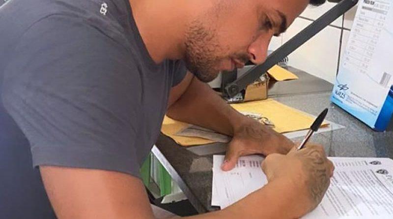 Jogador assinou contrato com o Papão até o final de 2021