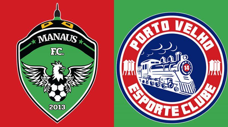 Saiba onde assistir Manaus x Porto Velho ao vivo